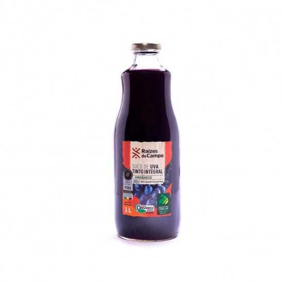 Suco de Uva Tinto Integral Orgânico 1L - Raízes do Campo