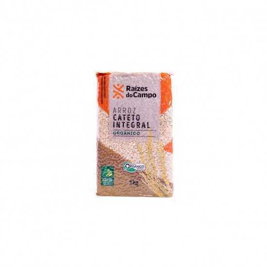 Arroz Cateto Integral Orgânico 1kg - Raízes do Campo