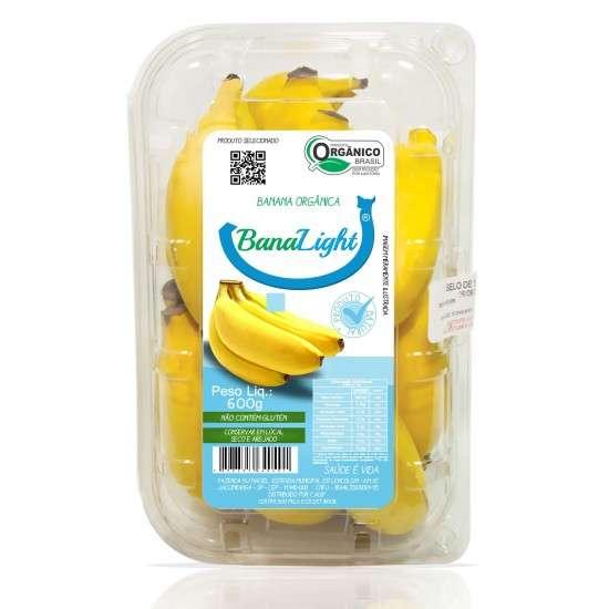 Banana Banalight Orgânica 600g - MJ Maciel