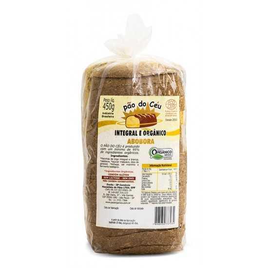 Pão Integral Orgânico Abóbora 450g - Pão do Céu