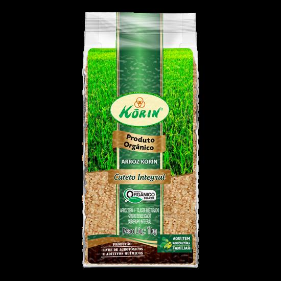 Arroz Cateto Integral Orgânico 1kg - Korin