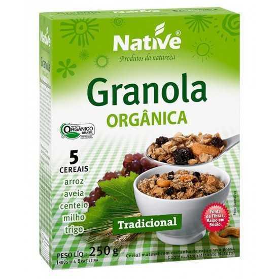 Granola Orgânica Tradicional 250g - Native