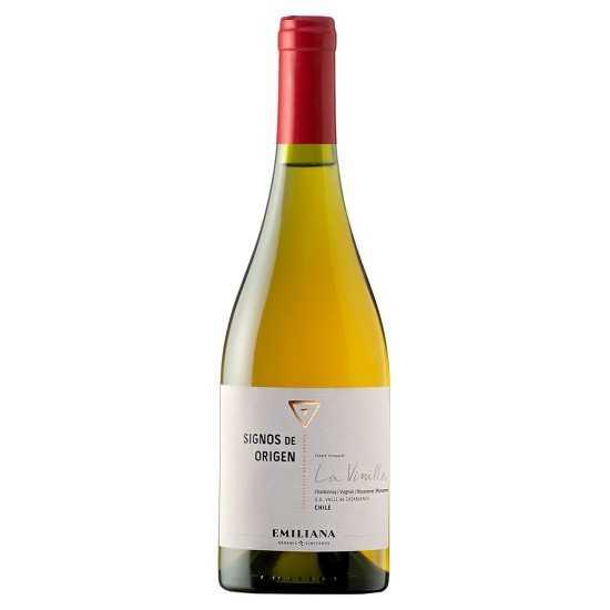 Vinho Orgânico Signos Origen Chardonnay e Viognier 2013 Branco 750ml - Emiliana