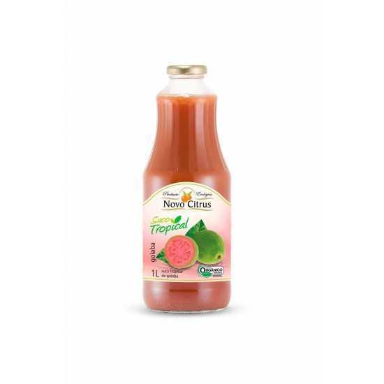 Suco Tropical de Goiaba Orgânico 1L - Novo Citrus