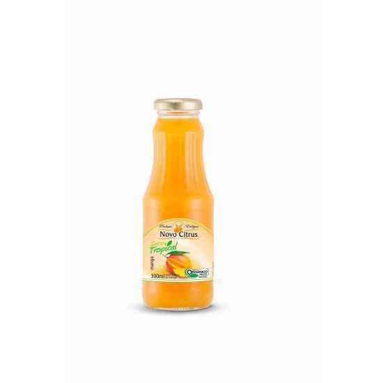 Suco Tropical de Manga Orgânico 300ml - Novo Citrus