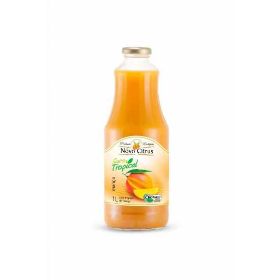 Suco Tropical de Manga Organico 1L Novo Citrus