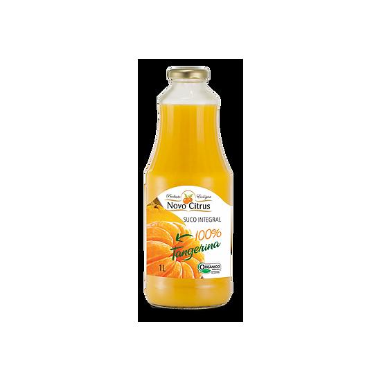 Suco Integral de Tangerina Orgânico 1L - Novo Citrus