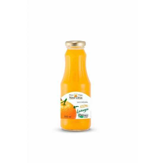 Suco Integral de Laranja Orgânico 300ml - Novo Citrus
