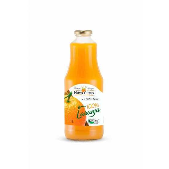 Suco Integral de Laranja Organico 1L Novo Citrus