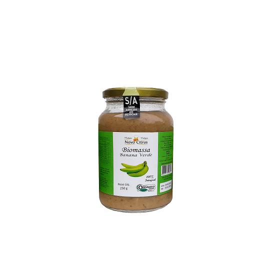 Biomassa de Banana Verde Orgânica 250g - Novo Citrus