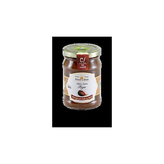 Geleia de Figo Com Calda de Agave Orgânica 200g - Novo Citrus