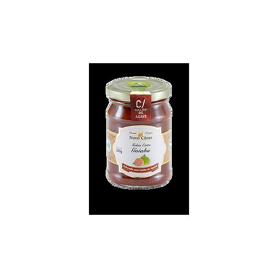 Geleia de Goiaba com Agave Orgânico 200 g Novo Citrus