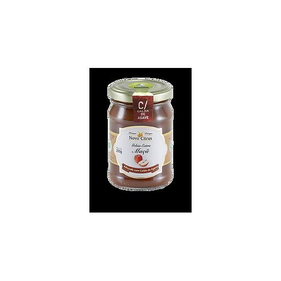 Geleia de Maçã com Calda de Agave Orgânico 200g - Novo Citrus