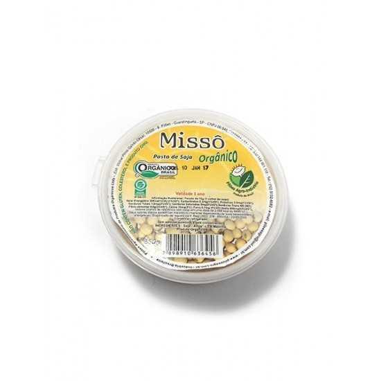 Pasta de Soja Orgânica Missô 250g - Sítio Boa Esperança