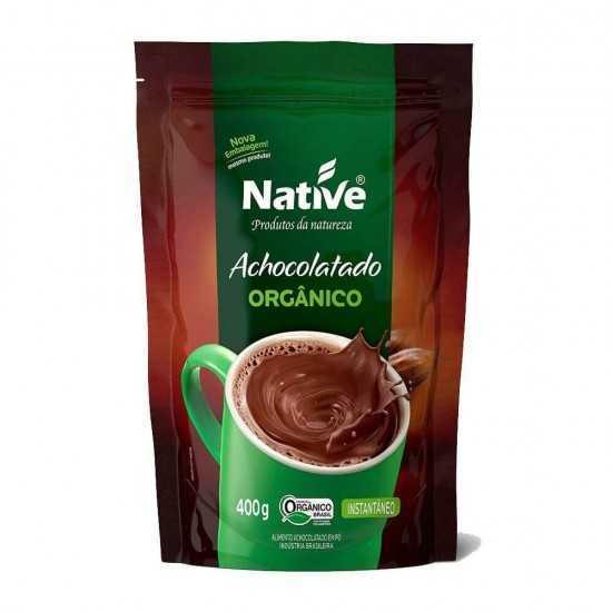 Achocolatado Orgânico Instantâneo 400g - Native