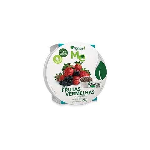 Mix de Frutas Vermelhas com Chia 100g - Organic4