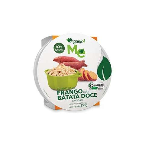 Cumbucão de Frango com Batata Doce e Wasabi 250g - Organic4