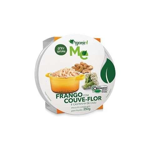 Cumbucão de Frango com Couve-flor e Castanha-de-caju 250g - Organic4