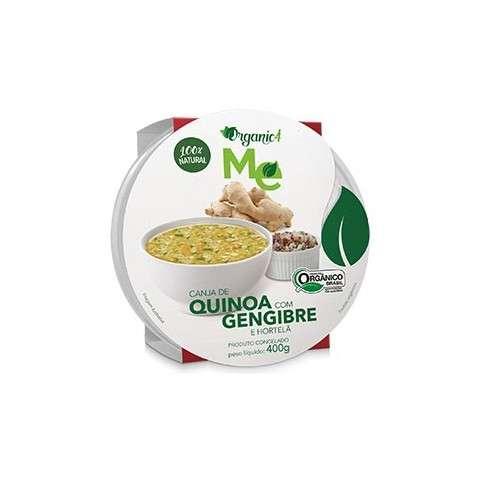 Canja de Quinoa com Gengibre e Hortelã 400g - Organic4