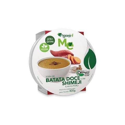 Sopa de Batata Doce com Shimeji e Alho Poró 400g - Organic4