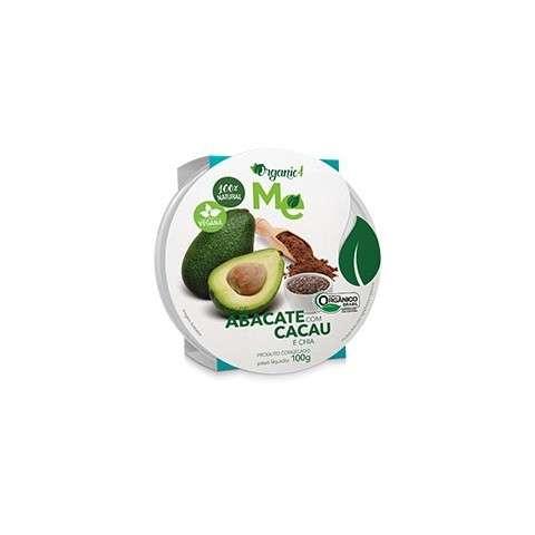 Mix de Abacate com Cacau e Chia 100g - Organic4