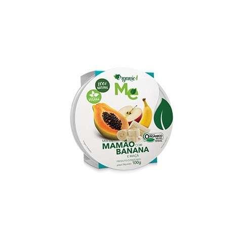 Mix de Mamão com Banana e Maçã 100g - Organic4