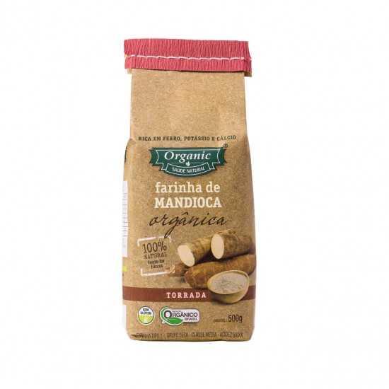 Farinha de Mandioca Torrada Orgânica 500 gr - Organic Alimentos