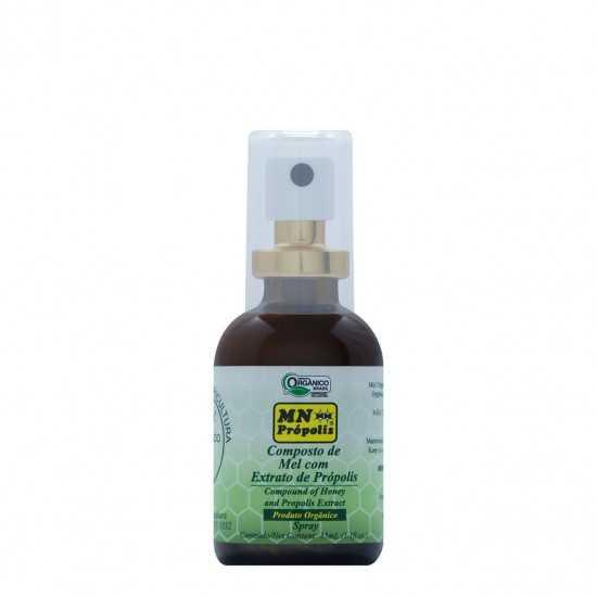 Composto de Mel com Extrato de Própolis Spray Orgânico BR - Green 35ml - MN Própolis