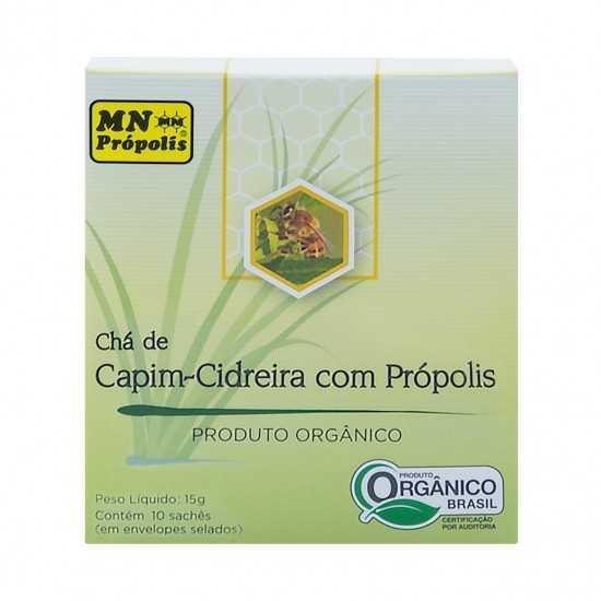 Chá Capim-Cidreira com Própolis Orgânico - MN Própolis