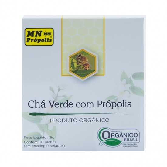 Chá Verde com Própolis Orgânico - MN Própolis