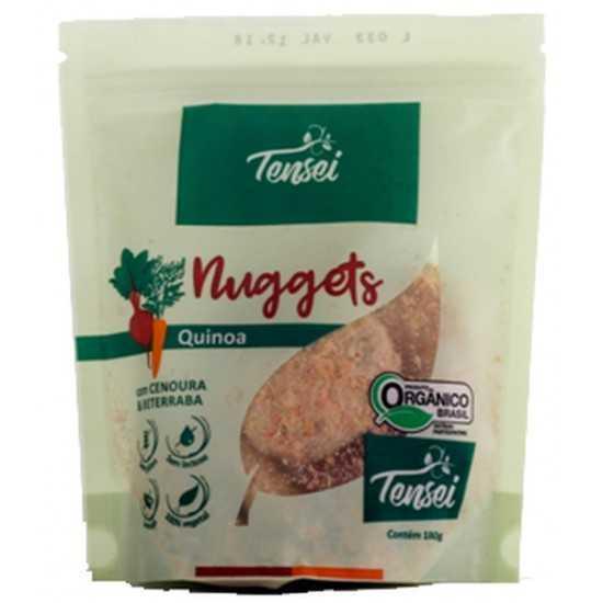 Veggets de Quinoa Com Cenoura e Beterraba Orgânico 180g - Tensei Orgânicos