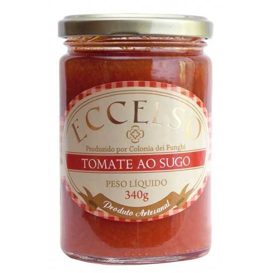 Tomate ao Sugo Orgânico 340g - Eccelso