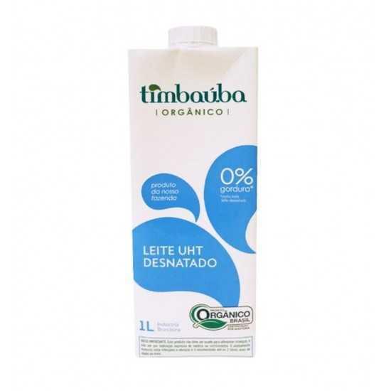 Leite Desnatado Orgânico 1L - Timbaúba