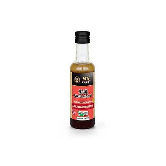 Molho Salada Oriental Orgânico 250ml MN Food