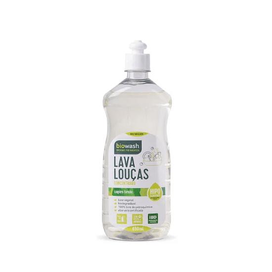 Lava Louças Hipolargenico Capim Limão Orgânico 650 ml - Biowash