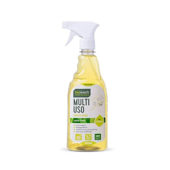 Multiuso de Capim Limão Orgânico 650 ml - Biowash