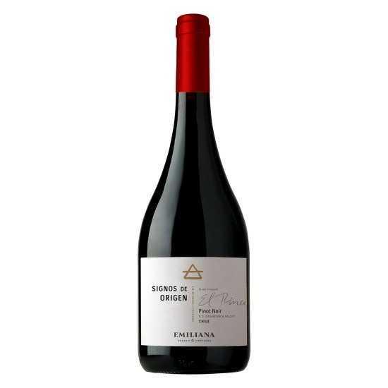 Vinho Orgânico Signos Origen Pinot Noir 2016 TTO 750ml - Emiliana