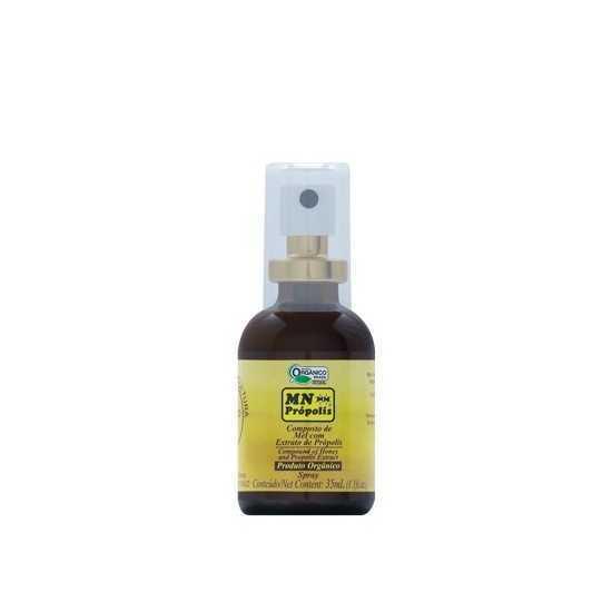Composto de Mel com Extrato de Própolis Spray S Orgânico 35ml - MN Própolis
