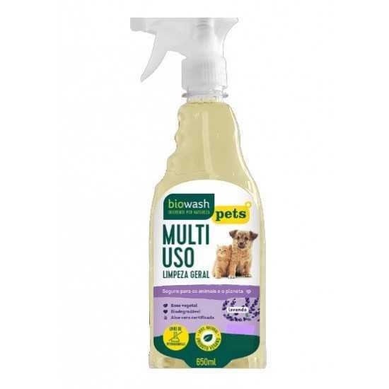 Pet Multiuso Lavanda Orgânico 650ml - Biowash