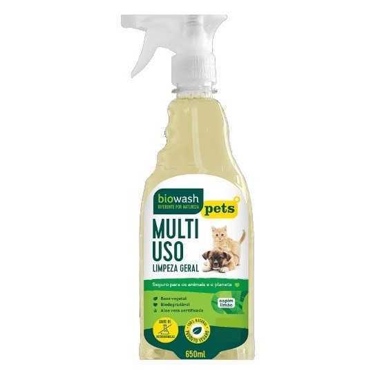 Pet Multiuso Capim Limão Orgânico 650ml - Biowash