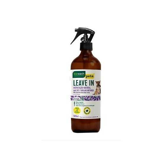 Pet Leave In Orgânico 500 ml - Biowash