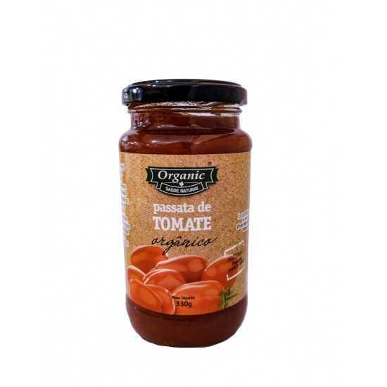 Passata de Tomate Orgânico 330g - Organic Alimentos