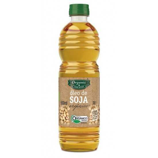Óleo de Soja Orgânico 500ml - Organic Alimentos