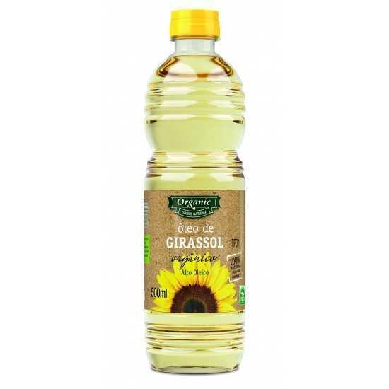 Óleo de Girassol Orgânico 500ml - Organic Alimentos