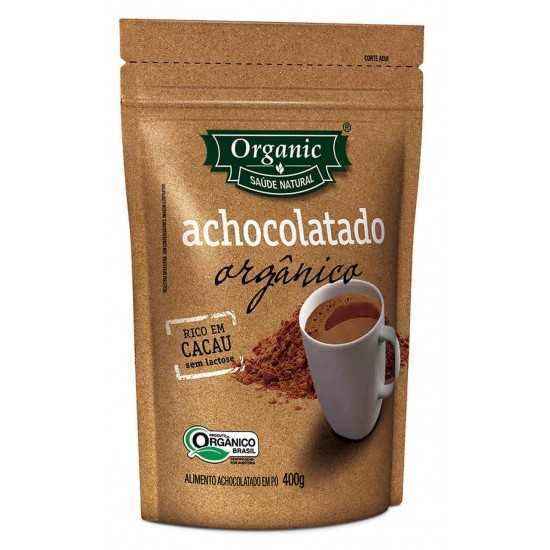 Achocolatado Orgânico 400g - Organic Alimentos