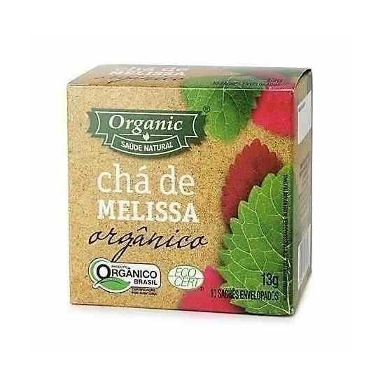 Chá de Melissa Orgânico 13g - Organic Alimentos