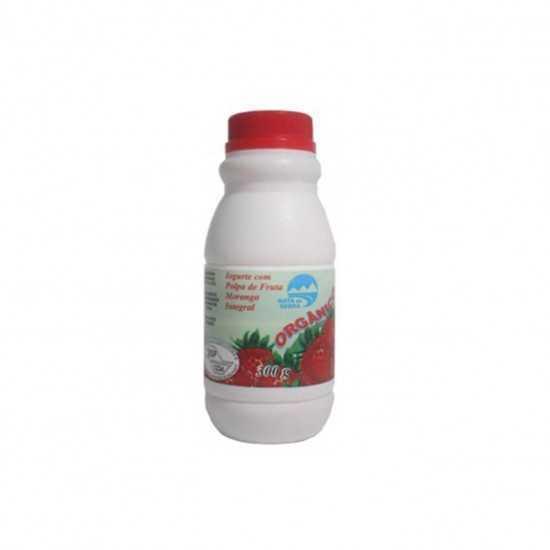 Iogurte Orgânico de Morango 300g - Nata da Serra