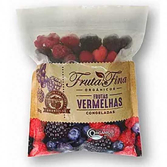 Mix de Frutas Vermelhas Orgânicas Congeladas 1kg - Fruta Fina
