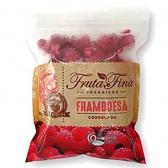 Framboesa Orgânica Congelada 1kg - Fruta Fina