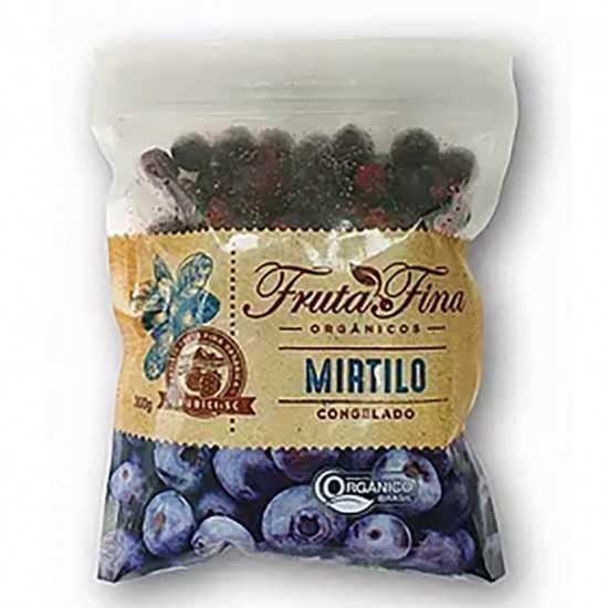 Mirtilo Orgânico Congelado 1kg - Fruta Fina